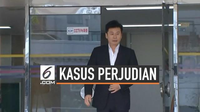Eks CEO YG Entertaniment Yang Hyun Suk diperiksa kepolisian Seoul terkait dugaan kasus perjudian ilegal dan prostitusi sebagai suap untuk investor.