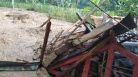 Bencana tanah longsor di Cianjur, Jawa Barat. (Dok BNPB)