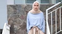 Miliki empat anak, Zaskia Adya Mecca mengaku tak repot mengurus mereka saat liburan. (instagram/zaskiadyamecca)