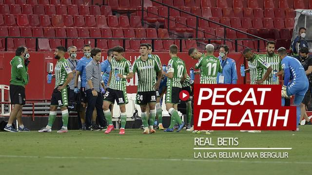 Berita video Real Betis memutuskan untuk memecat pelatihnya, Rubi, saat La Liga 2019-2020 belum lama bergulir kembali.