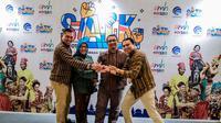 Mengusung konsep Kapal Pinisi, Stand Biro Komunikasi Publik (Komblik) Kementerian Pariwisata dan Ekonomi Kreatif (Kemenparekraf) terpilih sebagai stand dengan dekorasi terbaik pada Anugerah Media Humas (AMH) 2019.