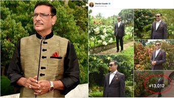 Viral Obaidul Quader Menteri yang Unggah 13 Ribu Foto di Facebook, Ini Faktanya
