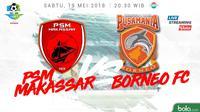 Liga 1 2018 PSM Makassar Vs Pusamania Borneo FC (Bola.com/Adreanus Titus)