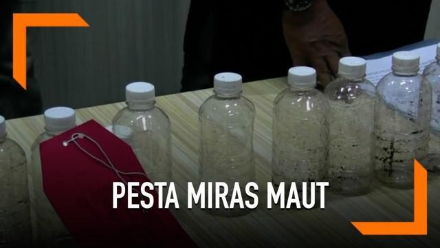 Akibat minum miras oplosan, 6 warga Yogyakarta tewas.