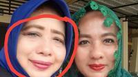 Irianwati, terpidana korupsi kredit fiktif BPD Palopo yang berstatus buron tampak dalam lingkaran berwarna merah (Liputan6.com/ Eka Hakim)