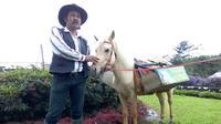 Ridwan, sang penghela kuda pustaka. (Foto: Liputan6.com.Rudal Afgani)