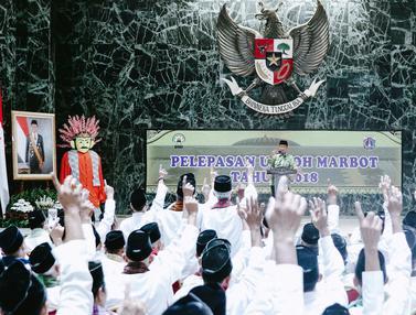 Pemprov DKI Jakarta Berangkatkan 267 Marbot Masjid untuk Umrah