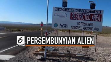 Beredar viral di social media, undangan di group facebook untuk menggeruduk area 51, tempat pemerintahan Amerika Serikat menyembunyikan dan meneliti Alien.