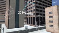 Rumah dengan Komponen yang Dibuat dari 3D Printer. Kredit: Singapore Centre for 3D Printing