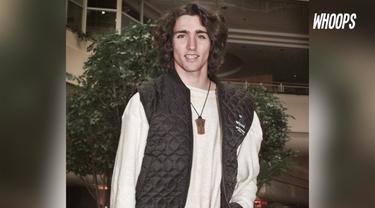 Foto-foto yang diambil tahun 90an ini menunjukan, Trudeau memiliki kharisma sejak muda.