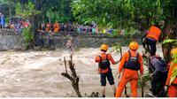 Banjir yang merendam tiga Kabupaten/Kota di Sulawesi Selatan (Sulsel) masing-masing Kabupaten Barru, Pinrang dan Soppeng kini dikabarkan sudah surut. (Liputan6.com/Eka Hakim)