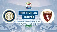 Serie A 2017 Inter Milan Vs Torino (Bola.com/Adreanus Titus)