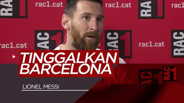 Berita video Lionel Messi yang mengungkapkan sudah ingin meninggalkan Barcelona saat dirinya sempat tersangkut kasus penipuan pajak.
