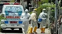 Warga RW 09 Perumahan Wisma Asri, Teluk Pucung, Bekasi Utara, Kota Bekasi, Jawa Barat, resah dengan penyebaran virus Covid-19 yang masif di wilayahnya.