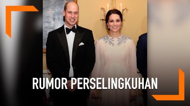 Kerajaan Inggris dlanda rumor tak sedap. Pengeran William dikabarkan selingkuh dengan sahabat Kate Middleton. Pihak kerajaan belum memberikan pernyataan terkait rumor ini.