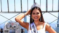 Andrea Meza, Miss Universe 2020 (dok.Instagram/@andreamezamx/https://www.instagram.com/p/CPGr91fraI7/Komarudin)