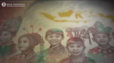 Uang baru Rupiah pecahan Rp 75 ribu.