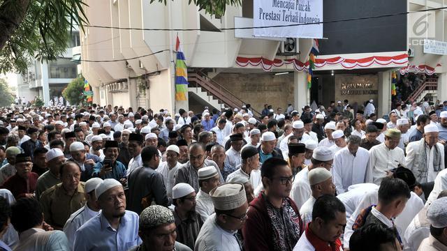Ratusan Warga Bandar Lampung Salat Idul Adha Selasa Pagi Haji
