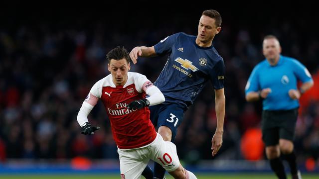 Arsenal Hentikan Rekor Kemenangan Manchester United