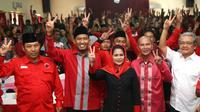 Calon Wakil Gubernur Jawa Timur Puti Guntur Soekarno (Liputan6.com/Dian Kurniawan)
