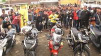 Adira Insurance menggelar Sunmori dengan rute Jakarta-Bogor. (ist)