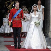 Gaun pernikahan Kate Middleton. (Istimewa)