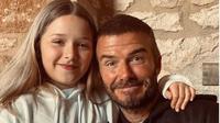 David Beckham dan Harper Beckham. (dok.Instagram @davidbeckham/https://www.instagram.com/p/CA2ZabLh_DU/Henry)