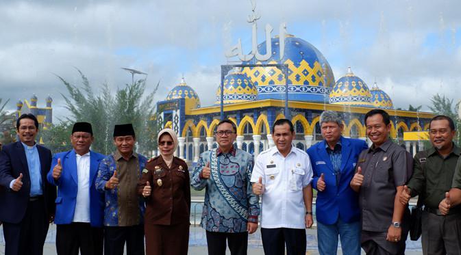 Ketua MPR RI dan rombongan berkunjung ke Masjid Agung As-Salam Lubuklinggau