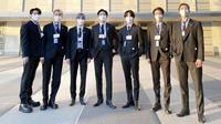 Makna Pin Berwarna yang Dikenakan BTS di Sidang Umum PBB/dok. Instagram UNICEF