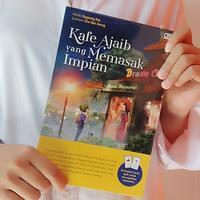 Buku Kafe Ajaib yang Memasak Impian./Copyright Endah