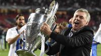 1. Carlo Ancelotti - 3 gelar Liga Champions, AC Milan (2003 dan 2007) dan Real Madrid (2014). (AFP/Franck Fife)