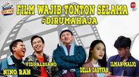 """Program """"Nonton Gak Ya"""" di channel Review Mulu yang mengulas seputar dunia perfilman. (credit: YouTube Review Mulu)"""