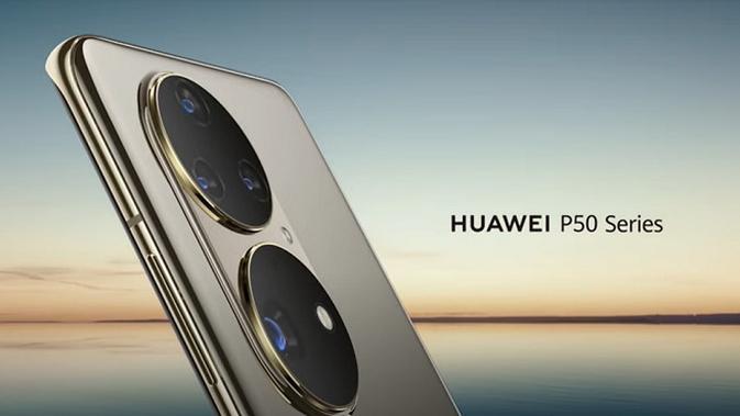 Bocoran tampilan dari Huawei P50 (Ist.)
