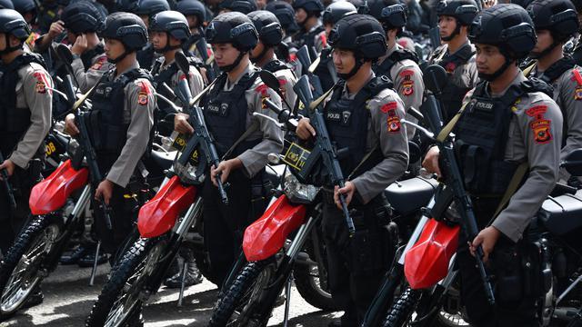 4.000 Personel TNI-Polri Apel Pengamanan Pemilu 2019