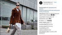 Suka dengan busana bermotif namun tetap terlihat rapi? Intip tren fashion yang satu ini. (Foto: Instagram @thestylestalkercom)