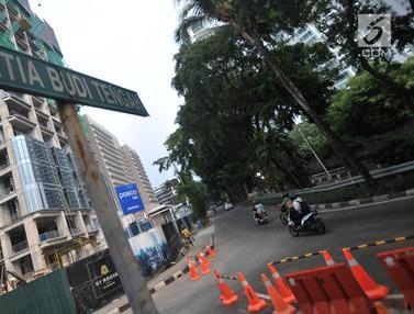 Mulai 17 Juni 2019, Jalan Setiabudi Tengah Ditutup untuk Proyek LRT