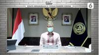 Menparekraf Sandiaga Uno. foto: screenshot vidio.com 'Bincang Editor - Wisata Kemanusiaan di Tengah Pandemi Corona'
