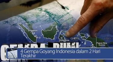 Daily TopNews hari ini akan menyajikan berita tentang 4 gempa yang menggoyang Indonesia dalam 2 hari terakhir, dan lowongan pekerjaan yang sedang dibuka oleh BUMN. Seperti apa berita lengkapnya? Lihat videonya yuk