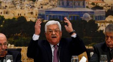 Presiden Otoritas Palestina Mahmoud Abbas (AFP Photo)