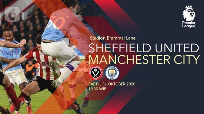 Sheffield United vs Manchester City (Liputan6.com/Abdillah)