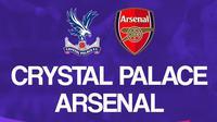 Liga Inggris: Crystal Palace Vs Arsenal. (Bola.com/Dody Iryawan)