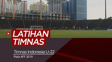 Berita video latihan Timnas Indonesia U-22 jelang menghadapi Thailand di final Piala AFF U-22 2019.