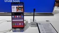 Samsung Galaxy Note 9. Liputan6.com/Agustinus Mario Damar