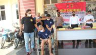 Satreskrim Polres Lebak Tangkap Rampok Motor Mahasiswa. (Senin, 20/09/2021). (Dokumentasi Polres Lebak).