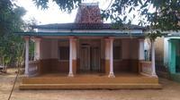 inilah rumah tradisiona; madura di Desa Ganding Timur, Kecamatan Ganding,Kabupaten Sumenep (liputan6.com/Musthofa Aldo)