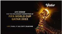 Drawing Kualifikasi Piala Dunia 2022 Zona Asia Putaran Kedua (Vidio.com)