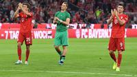 Bayern Munchen membuka Bundesliga 2019-20 dengan meraih hasil imbang. (AFP/Sven Hoppe)
