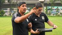 Pelatih Persiba Balikpapan, Angel Alfredo Vera. (Dok. Persiba)