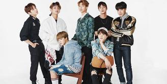 Lagi-lagi BTS menorehkan prestasi international. Lantaran lagu mereka masuk dalam daftar 100 lagu boyband terbaik sepanjang masa versi Billboard. (Foto: Soompi.com)