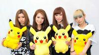 Band Scandal belakangan dilirik untuk mengisi lagu tema anime tersohor di dunia, Pokemon.